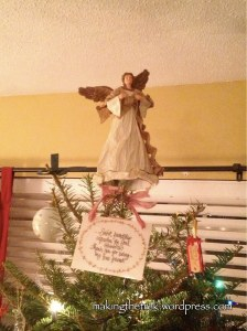 Our Angel and friendship ornament