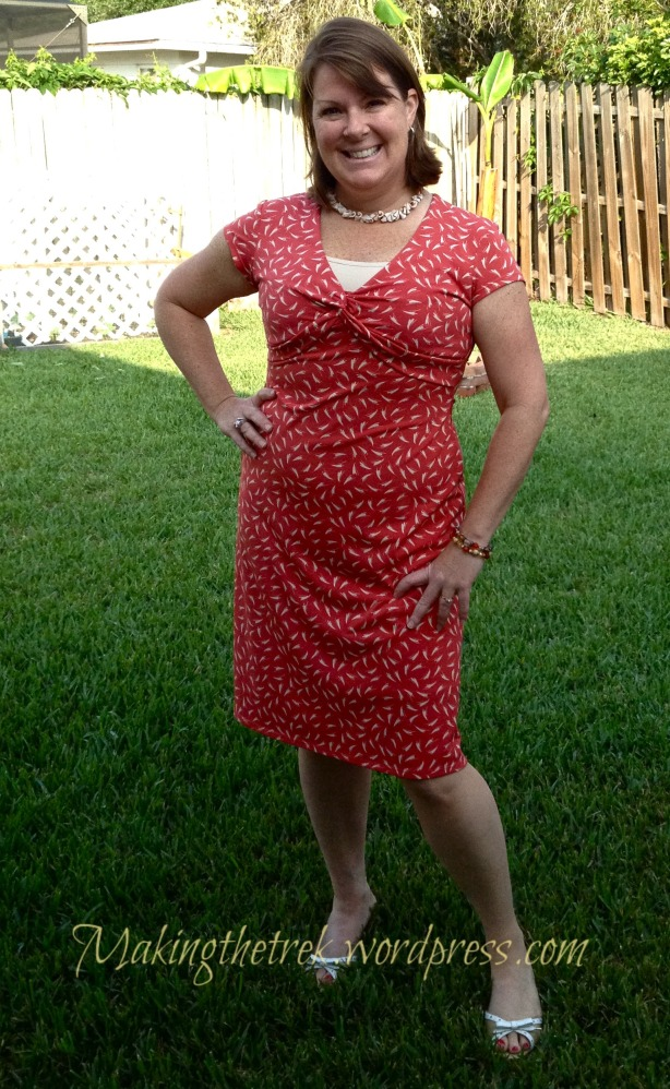 Full length....Target dress, many, many moons ago and one of my faves.