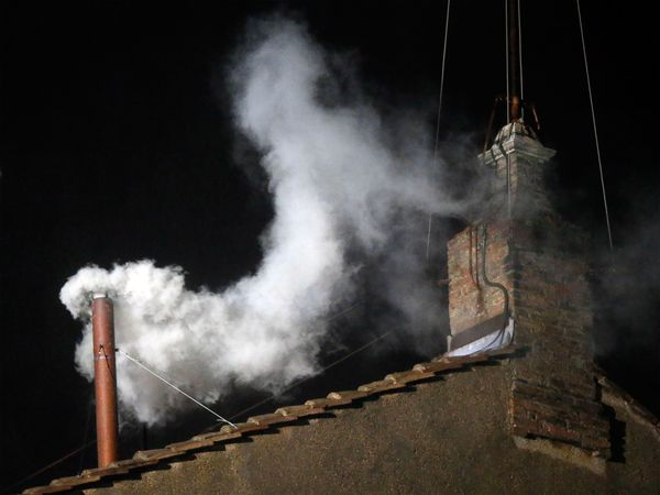 More photo cred and instructions on making your own white smoke ;-)