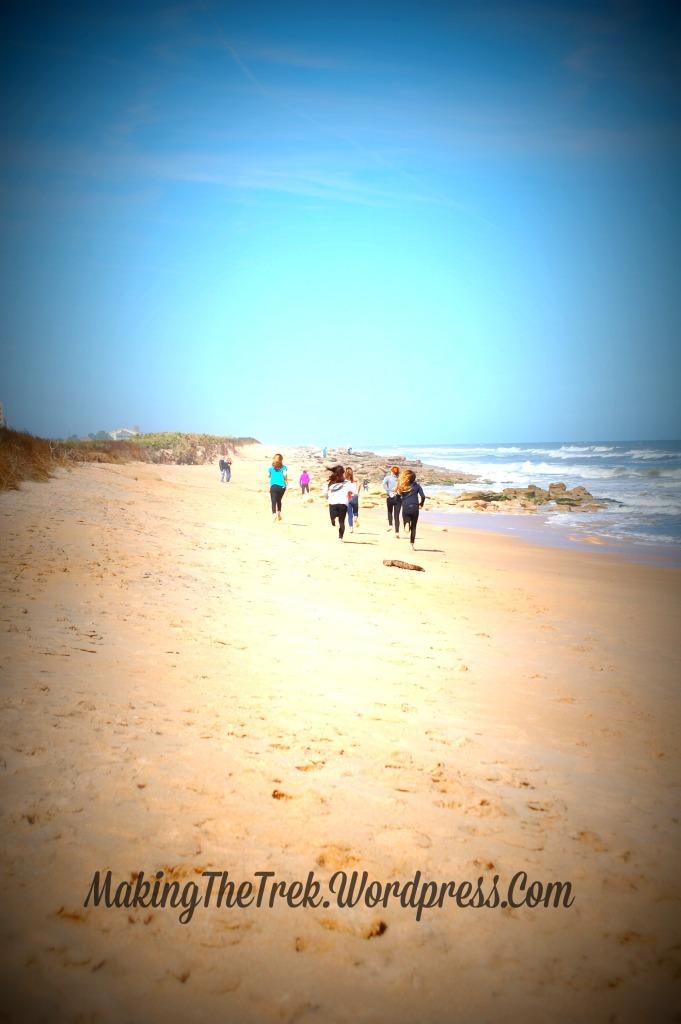 Miles of beach ahead!